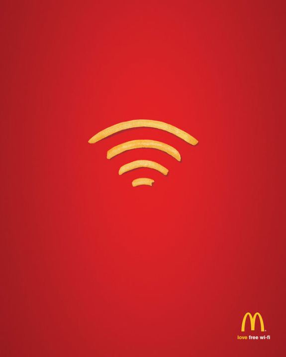 10 Of The Best Minimal Printed Advertising Examples