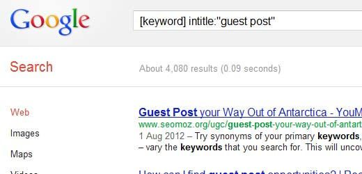 Finding Really Great Guest Posts