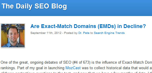 Why EMD's Could Be Penguin/Panda Winners