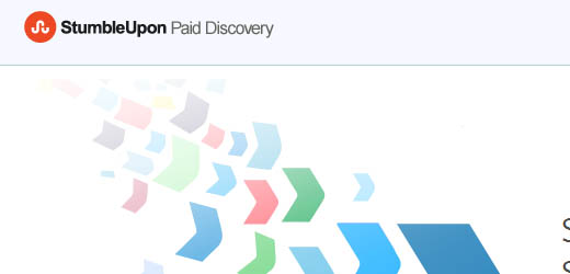 StumbleUpon Paid Discovery - Get visitors for as little as $0.05.