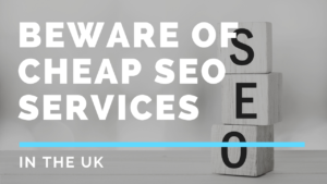 Beware of Cheap SEO Services